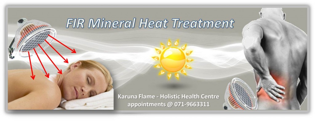 Heat Treatment Using Far Infrared Mineral Lamp Therapy